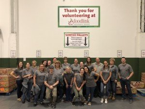 Feature Image - RCR Volunteers at FoodLink, Inc.