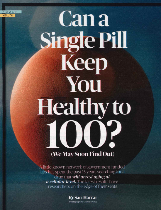 Feature Image - Can a Single Pill Keep you Healthy to 100? A Clinical Trial at RCR Will Soon Find Out.
